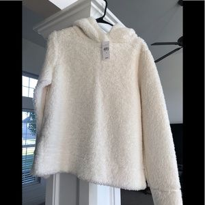 Loft new with tags small Sherpa hoodie